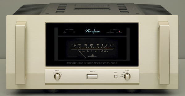 Accuphase アキュフェーズ フラグシップパワーアンプ M-6000 発売!