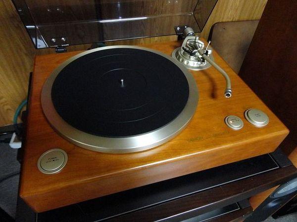 アナログレコード聴く