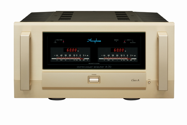 Accuphaseアキュフェーズ パワーアンプ A-70発表