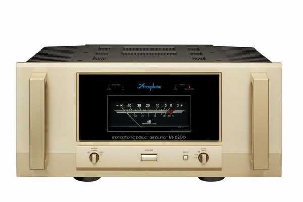 アキュフェーズ パワーアンプ M-6200発表