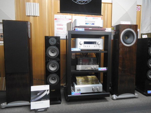 TANNOY Definition DC10A 展示いたしました。