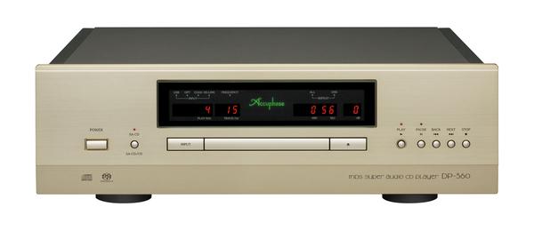 アキュフェーズ SACDプレーヤーDP-560 展示いたしました。