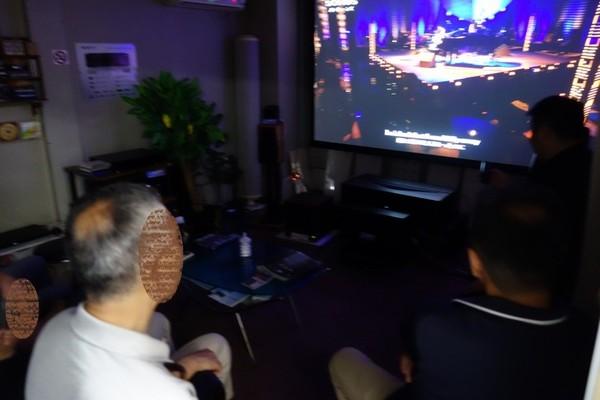 超短焦点4Kレーザー・プロジェクターVPL-VZ1000 視聴会