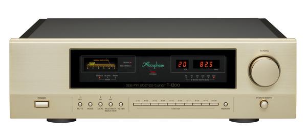 Accuphase DDS方式FMチューナー T-1200発売