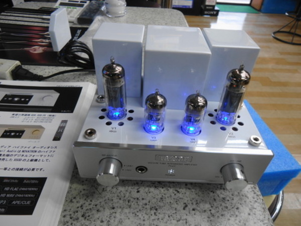 TRIODE 新製品Pearl 常設展示はじめました