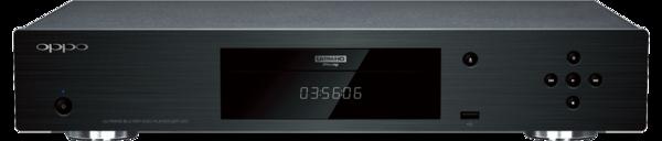 OPPO 4KウルトラHD Blu-rayディスクプレーヤー UDP-203 発売
