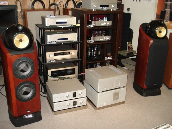 LUXMANアンプ試聴 600、800シリーズ