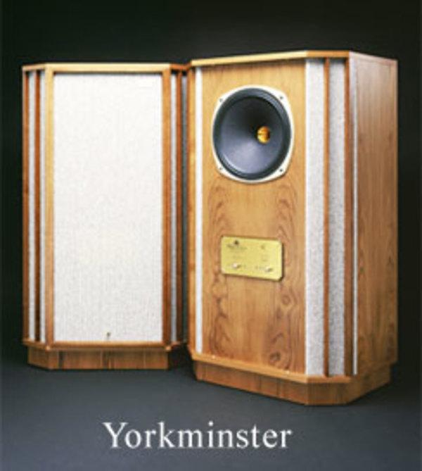 TANNOYタンノイ Yorkminster常設・展示開始 只今集中試聴中。