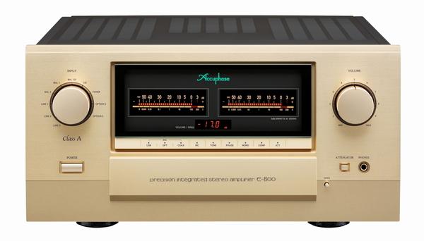 アキュフェーズ創立50周年記念モデルの第一弾 E-800 発売