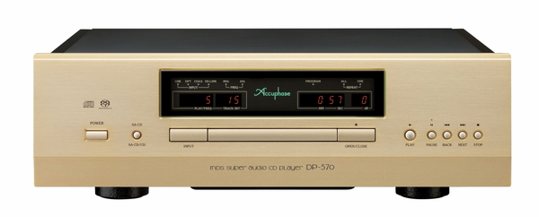 Accuphase MDSD SA-CDプレーヤー DP-570 発売