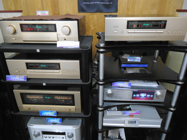 Accuphase MDSD SA-CDプレーヤー 新製品 DP-570 只今試聴中!