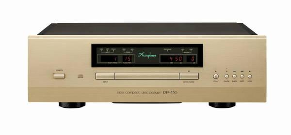 Accuphase MDSD CDプレーヤー DP-450 発売