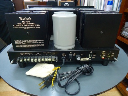 Mcintosh パワーアンプ  MC7270