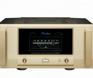 アキュフェーズ 1,200W/1Ω MONOPHONIC パワー・アンプ M-6200