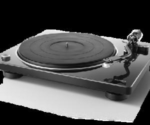 DENON MMカートリッジ対応フォノイコライザー搭載 本格マニュアルレコードプレーヤーDP-400