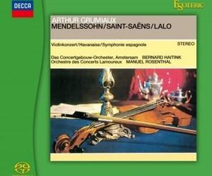 Arthur Grumiaux: Mendelssohn / Saint-Saëns / Lalo